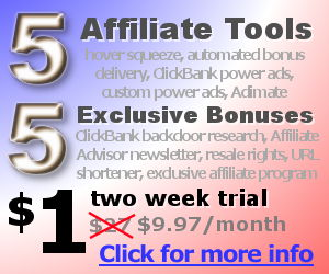 5 affiliate tools for $1