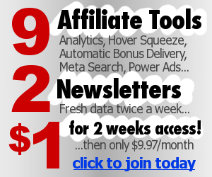 9 affiliate tools for $1