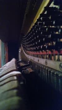 Inside a Piano